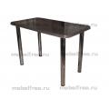 Обеденный стол  из камня темно-серый