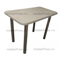 Обеденный стол  из камня светло-бежевый