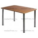 Обеденный стол пластик 1100*700мм