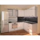 Кухонный гарнитур Белый глянец угловой