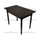 Кухонный стол прямоугольный венге