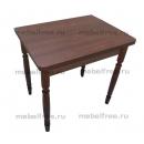 Обеденный стол ломберный раскладной орех