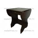 Кухонный стол раскладной с ящиком венге