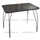 Обеденный стол гранит черный