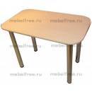 Обеденный стол ЛДСП дуб молочный