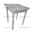 Кухонный стол ломберный раскладной белый