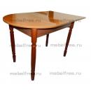 Кухонный стол пристеный раздвижной бук