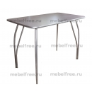 Обеденный стол ЛДСП серый
