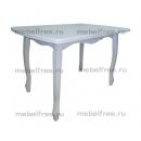 Обеденный стол раздвижной Венский белый