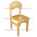Детский стульчик деревянный нерегулируемый
