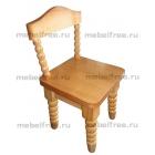 Детский стульчик из массива для детских садов