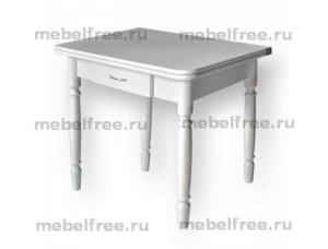 Стол кухонный ломберный раскладной белый