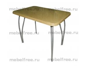 Обеденный стол из камня бежевый
