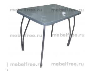 Обеденный стол из камня светло-серый