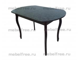 Кухонный стол венский раздвижной черный