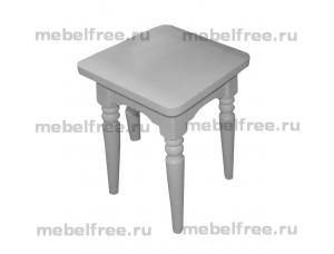 Табуреты белые из массива кухонные в Челябинске