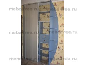 Шкаф-купе встроенный детский