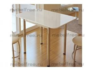 Купить обеденный стол белый глянец