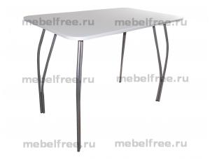 Купить обеденный стол белый глянец МДФ