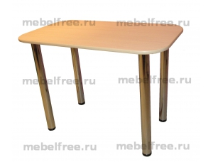 Купить обеденный стол из ЛДСП бежевый