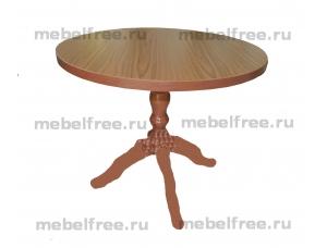 Купить кухонный стол круглый массив
