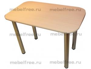Обеденный стол из ЛДСП дуб молочный