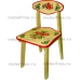 Купить стульчик  детский из массива с рисунком